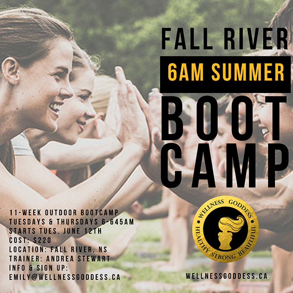 fall river bootcamp by Wellness Goddess